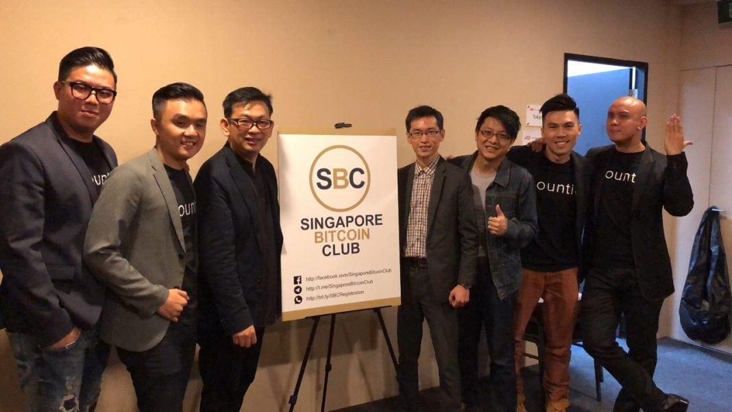 [13th Jan '18] Singapore Bitcoin Club x Bountie.io Outreach