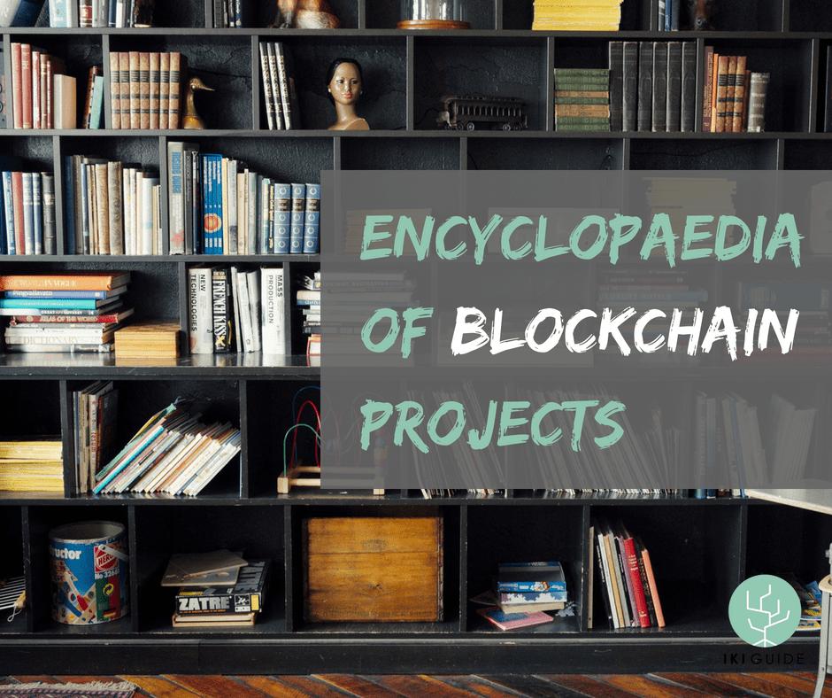 encyclopaedia blockchain projects